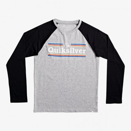Camiseta Quiksilver Get Buzzy LS Yth Athletic Heather