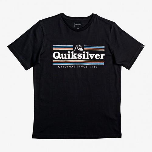 Camiseta Quiksilver Get Buzzy SS Yth Black