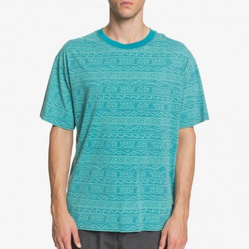 Camiseta Quiksilver Heritage Tee Pagoda Blue Tonal Heritage