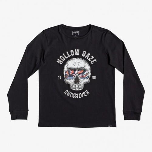 Camiseta Quiksilver Hollow Dayz Yth Black