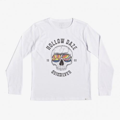 Camiseta Quiksilver Hollow Dayz Yth White