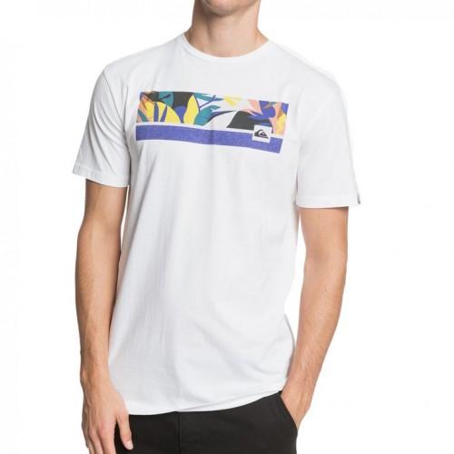 Camiseta Quiksilver Jam It Tee White