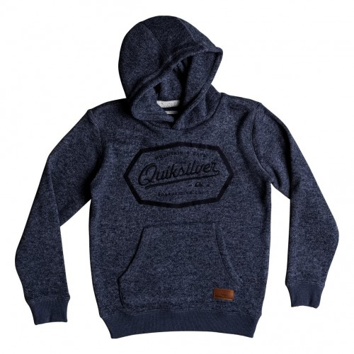 Quiksilver Keller Hood Art Youth Navy Blazer Heather
