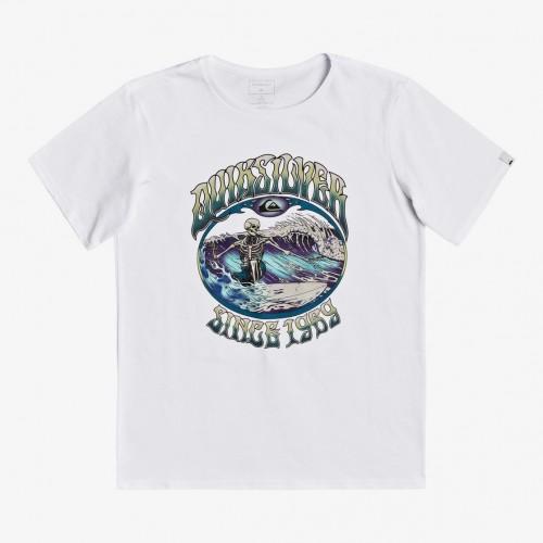 Camiseta Quiksilver Lost Alibi Tee White