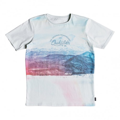 Quiksilver Lost In The Mountains Youth Sky Gray