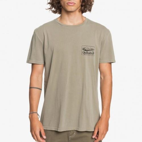 Camiseta Quiksilver Old Habit Tee Kalamata