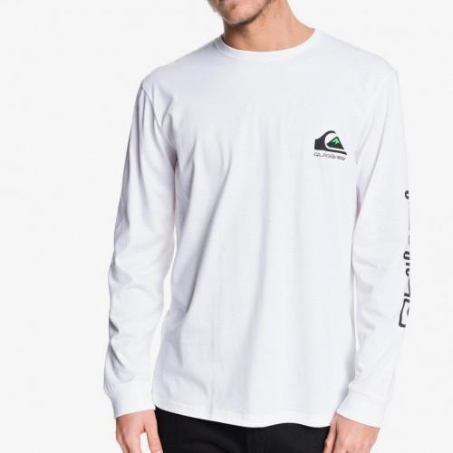 Camiseta Quiksilver Omni Logo Classic White