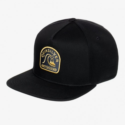 Gorra Quiksilver Pill Mountain Black