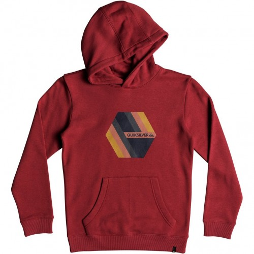 Quiksilver Retro Right Hood Youth Garnet