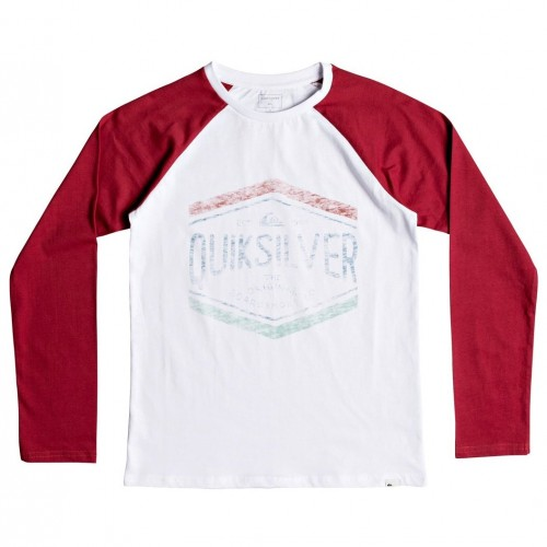 Quiksilver Sketchy Member Youth White