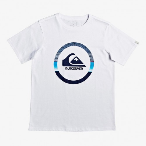 Camiseta Quiksilver Snake Dreams White