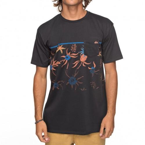 Camiseta Quiksilver Stack For Days Tarmac