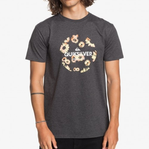 Quiksilver Summers End Tee Charcoal Heather