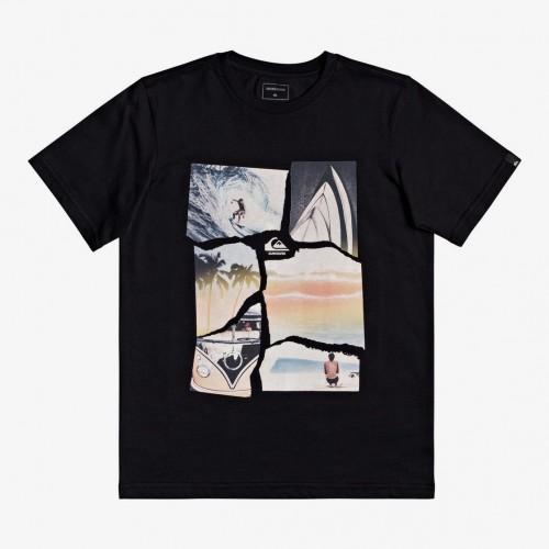 Camiseta Quiksilver Torn Apart Tee Black