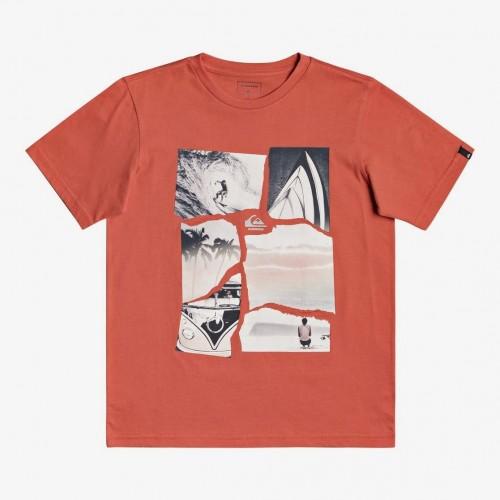 Camiseta Quiksilver Torn Apart Tee Chili