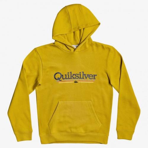 Sudadera Quiksilver Tropical Lines Hood Honey