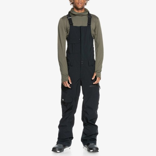 Pantalones de snowboard Quiksilver Utility Bib True Black