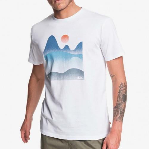 Camiseta Quiksilver Waterman Cool Horizon White