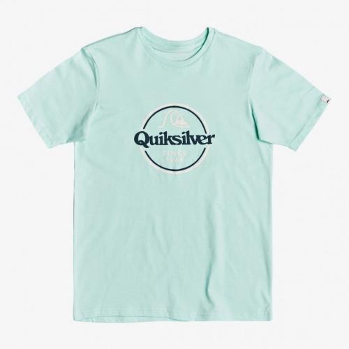 Quiksilver Words Remain Tee Yth Beach Glass
