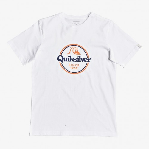 Quiksilver Words Remain Tee Yth White