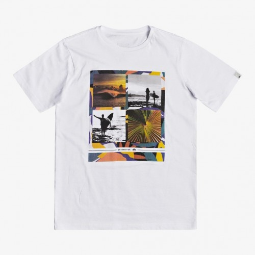 Quiksilver Younger Years Tee Yth White