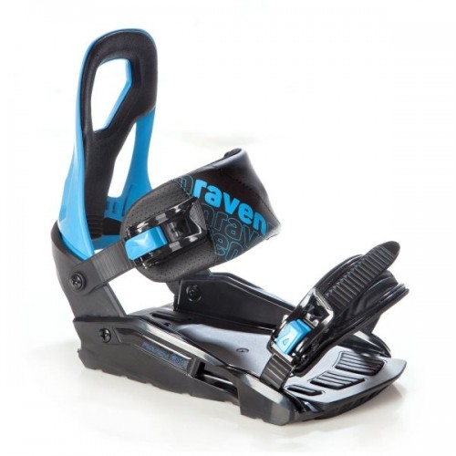 Fijaciones de snowboard Raven S200 Black 2020