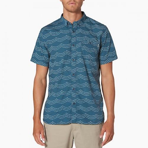 Camisa Reef Futures Indigo