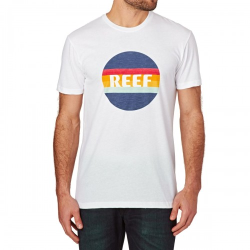 Camiseta Reef Simple Tee White