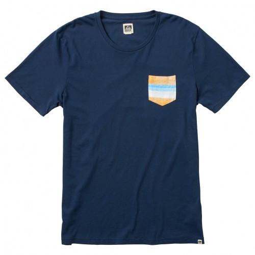Camiseta Reef Vacy Crew Indigo