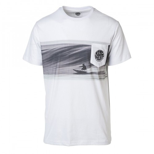 Camiseta Rip Curl Action Original Tee Cement Marle