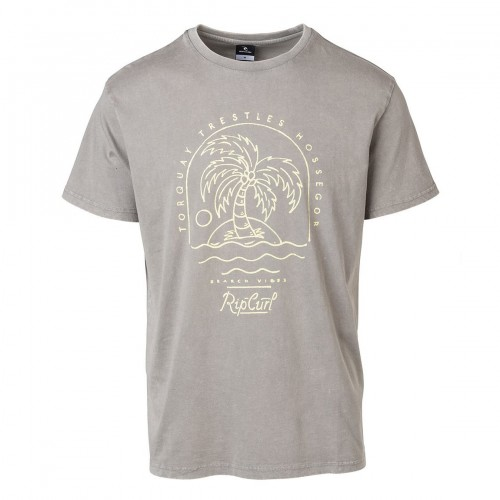 Camiseta Rip Curl Arty Cold Dye Tee Grey Flannel