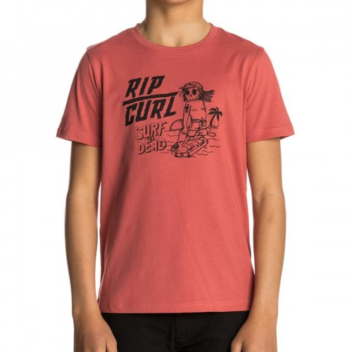 Camiseta Rip Curl Arty Surf Tee Mineral Red