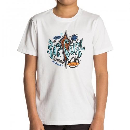 Camiseta Rip Curl Arty Surf Tee Optical White