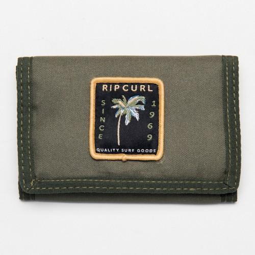 Rip Curl Badge Surf Wallet Dark Olive