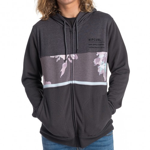 Sudadera Rip Curl Bussy Session Fleece Anthracite