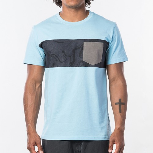 Camiseta Rip Curl Busy Session Tee Blue River