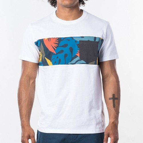 Camiseta Rip Curl Busy Session Tee Optical White