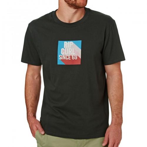 Camiseta Rip Curl Calif Tee Pirate Black