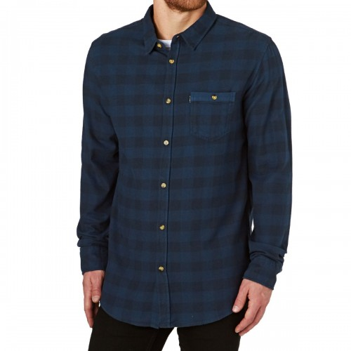 Camisa Rip Curl Check It LS Mood Indigo