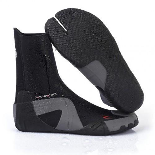 Rip Curl Dawn Patrol 3mm Split Toe Boot Black