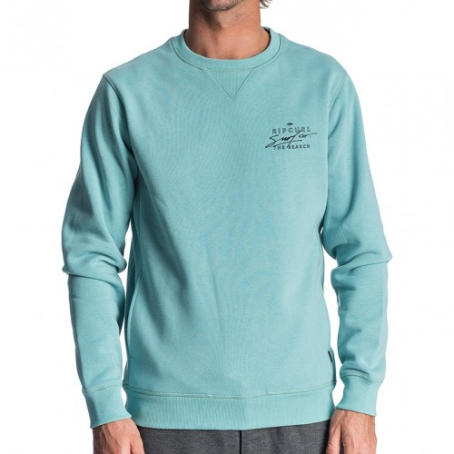Sudadera Rip Curl Destroy Waves Vpc Crew Teal