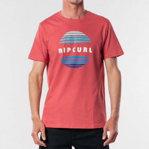Rip Curl El Mama Tee Washed Red