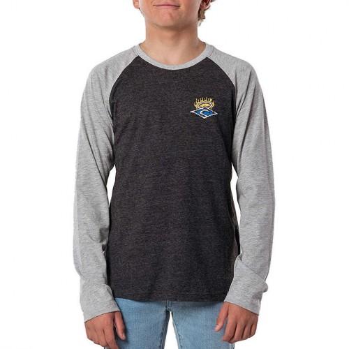 Camiseta Rip Curl Endless Runners Washed Black