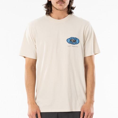 Camiseta Rip Curl Fadeout Sun Tee Bone