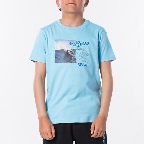 Camiseta Rip Curl Good Day Tee Boy Blue River