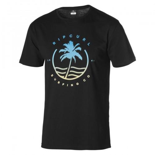 Camiseta Rip Curl Grady Tee Black