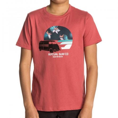Camiseta Rip Curl Multi Van Tee Mineral Red