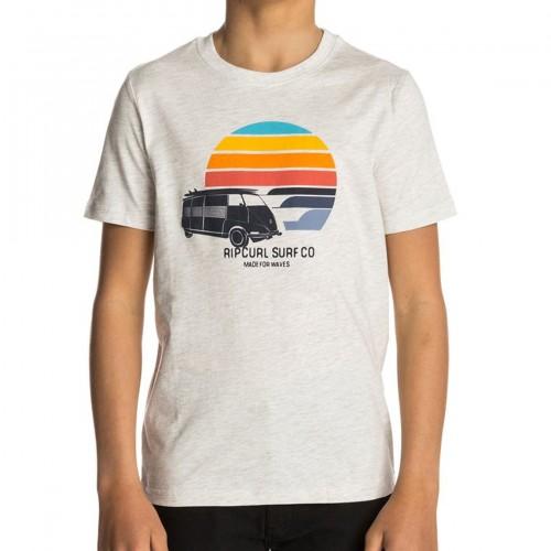 Camiseta Rip Curl Multi Van Tee White Marle