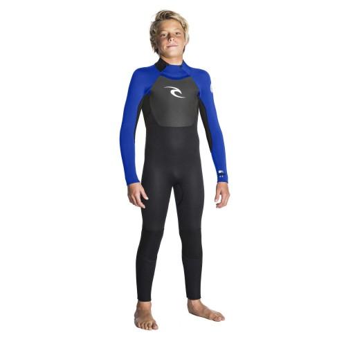 Neopreno de surf Rip Curl Omega Junior 4/3GB BZ STMR Blue
