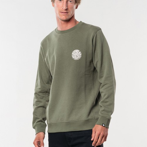 Rip Curl Original Wetty Crew Dark Olive